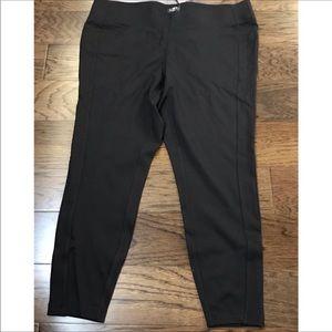 Loft Plus Black Leggings - NWT
